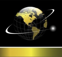 6863922-elegant-logo-with-gold-earth-globe-with-orbit-over-black-background